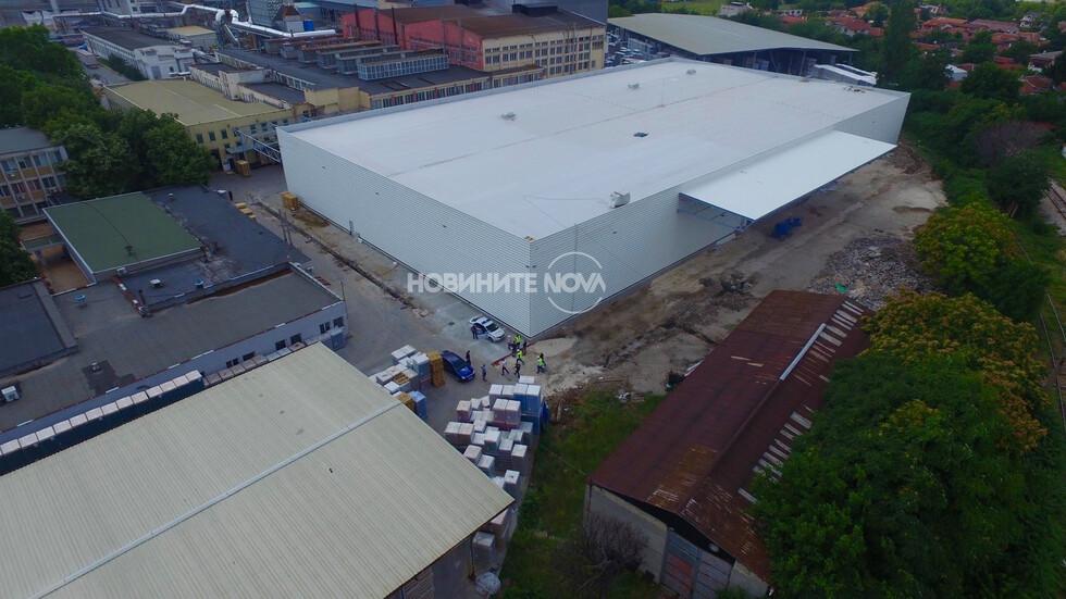 Евакуират завод в Пловдив заради намерен снаряд