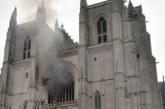 Арестуваха заподозрян за пожара на катедралата в Нант