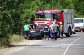 Кола пламна по пътя за Рилския манастир