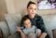 Галена и малкият й син с COVID-19
