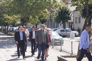 Гешев пристигна в Гоце Делчев