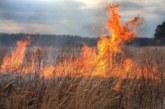 Пожар край с. Драката, пламнаха сухи треви и храсти