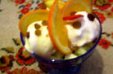 Мелба с домашен сладолед
