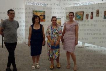 """Петима художници, представиха свои картини в изложбена зала """"Джамията"""""""