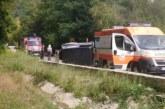 Катастрофа край Рилския манастир вдигна спешните екипи на крак