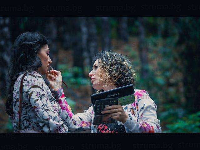 """Мощанската къща и гората над """"Орбита"""" за 4 дни станаха снимачна площадка за първия филм на благоевградската актриса Мира Котева"""