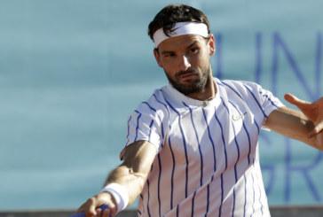 Григор Димитров отстъпи с една позиция в световната ранглиста