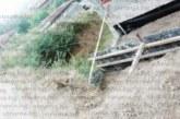 """СЛЕД 5 Г. ЖАЛБИ И ХОДЕНЕ ПО МЪКИТЕ! Задължиха собственици на 4-етажна къща в Благоевград да изградят подпорна стена към ул. """"Околчица"""", изкопът им свлякъл пътя"""