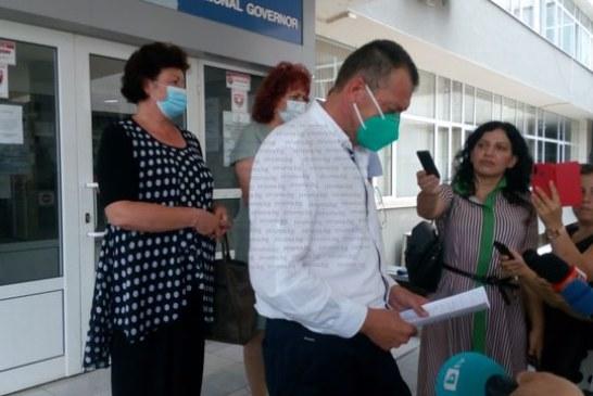 Областният управител Б. Михайлов: Отделението по хирургия в Благоевград е в готовност да приеме нови болни с коронавирус