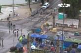 Остават блокирани възлови кръстовища в столицата