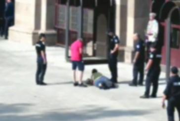 Жена се опита да нахлуе в сградата на Президентството