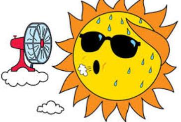Горещо начало на седмицата, живакът удря до 39°