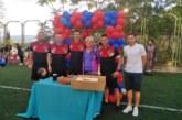 Гръцкият гранд ПАОК прати честитка за ЧРД на побратимената футболна школа в Сандански, малчуганите нагостени с торта, пици, лакомства…