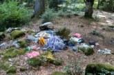 """Възмутен турист показа """"красотите"""" на местата за пикник край Рилския манастир"""