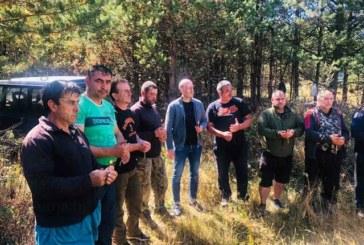 Ритуал за успешен сезон!   Трета група на ЛРД – Добринище си направи курбан преди старта на т.нар. свински лов