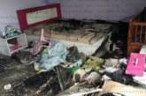 Огнен ад в Разлог! Седем семейства останаха без покрив, пожар изпепели дома им /снимки/