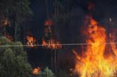 Борбата с огнената стихия в Хасковско продължава