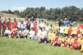 """Малките """"граничари"""" от Копривлен първенци в детската футболна фиеста в Добринище"""