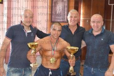 Община Симитли финансира участие на европейското първенство на балканския шампион по бодибилдинг Вл. Димитров от с. Полето