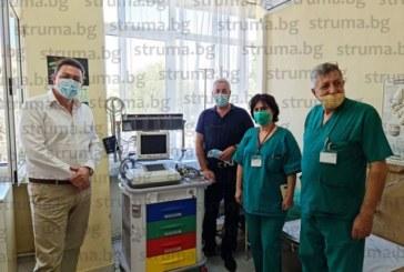 Филиалът за спешна медицинска помощ в Петрич с нова модерна апаратура, предстои и ремонт на сградния фонд
