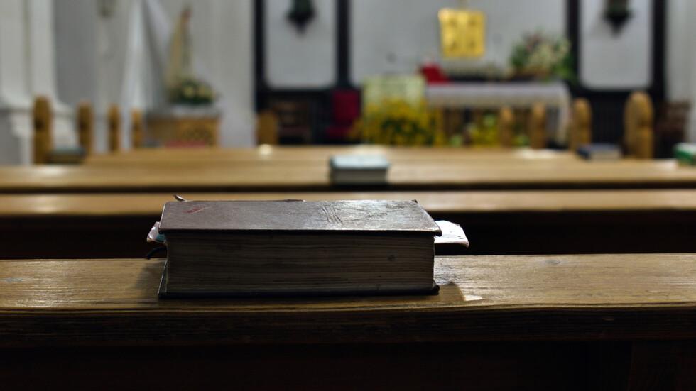 Учебни занятия в Италия се провеждат в църква