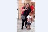 7-годишен петричанин се снима с великата Станка Златева