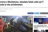 Българска медицинска сестра загина при катастрофа в Северна Италия