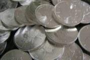 Зашита сребърна монета за дрехите гони злото