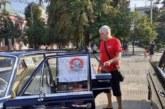 Партиен мерцедес изкара за ретропарада в Кюстендил автомонтьорът Кирил Михалков