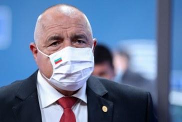 Премиерът Бойко Борисов с коронавирус