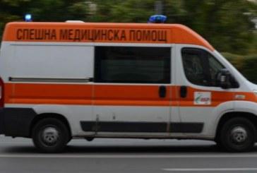 Катастрофа на пътя Сандански-Кресна! Транспортираха ранена жена в болница