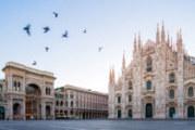 Улиците в Милано опустяха