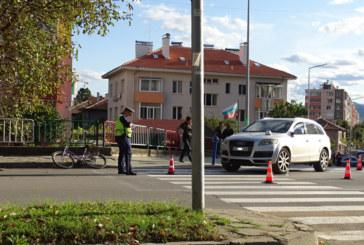 Джип блъсна велосипедист в Благоевград