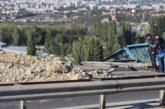 Възстановиха мантинелата на Аспаруховия мост след тежката катастрофа