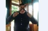 С маска от шишчета певецът Васко Лазаров се брани от коронавируса