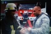 Благоевградските пожарникари объркаха на съботното дежурство обекта за гасене и здраво наквасиха колегата К. Китанов