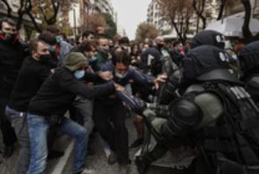 Над 100 ареста и ранен депутат при сблъсъци на демонстранти и полиция в Гърция