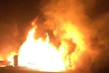 ОГНЕН АД В БАНСКО! Мъж изгоря при пожар в дома си