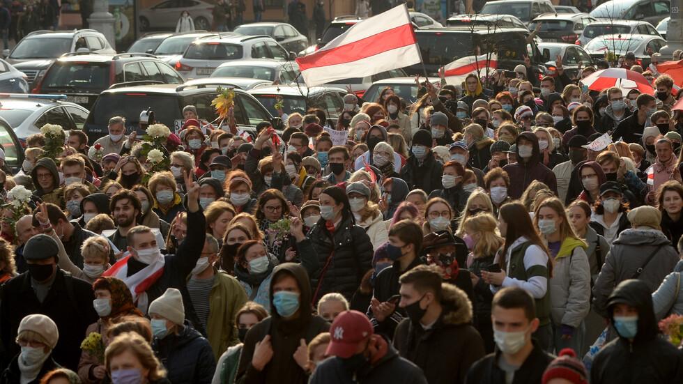 Масови арести на протестите в Беларус