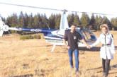 """""""Мис Силикон 2013"""" Джулиана Гани се разходи с хеликоптер над Рила"""