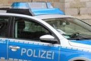 Кола се вряза в портала на канцлерството на Германия