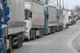 """Километрична опашка от камиони на """"Кулата"""""""