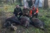 Само с един месец стаж като ловец, за два уикенда синът на бившия депутат Е. Юруков – Венцислав, гръмна две прасета