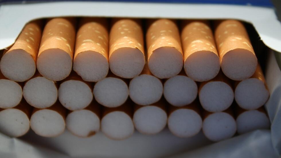 Иззеха над 700 кутии цигари с български бандерол