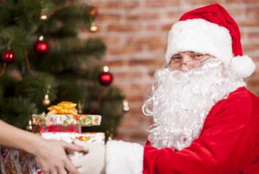 Дядо Коледа се оплете в далекопроводни жици (СНИМКИ)