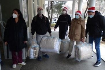 Болницата в Благоевград получи дарение от 185 комплекта спално бельо