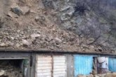Свлачище затрупа гаражи в Дупница