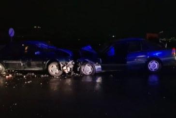 Тежка верижна катастрофа на Е-79 край Благоевград, четирима са ранени