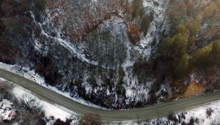 ВНИМАНИЕ! Опасност от срутване на земна маса върху пътя за Бачиново над Благоевград