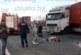 Благоевградски тир в тежка верижна катастрофа край Солун